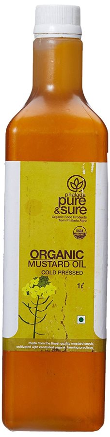 Buy Pure & Sure Organic Mustard Oil online New Zealand [ NZ ]