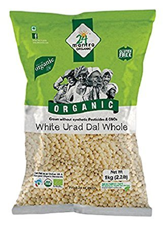 Buy 24 Mantra Organic Urad Dal White Whole online Nederland [ NL ]
