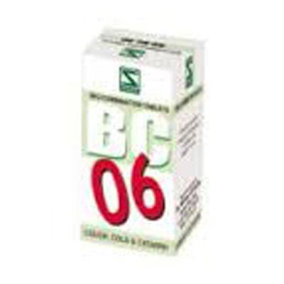 Buy Schwabe Homeopathy Bio Combination 06 - Cough, Cold & Catarrh online New Zealand [ NZ ]