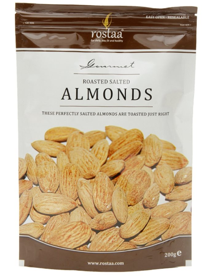 Organic Roasted Almonds (Salted) | Macaw! Foods