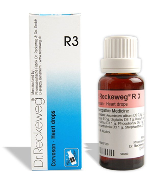Buy Dr. Reckeweg R3 Heart Drops - Blockage and Valvular online United States of America [ USA ]