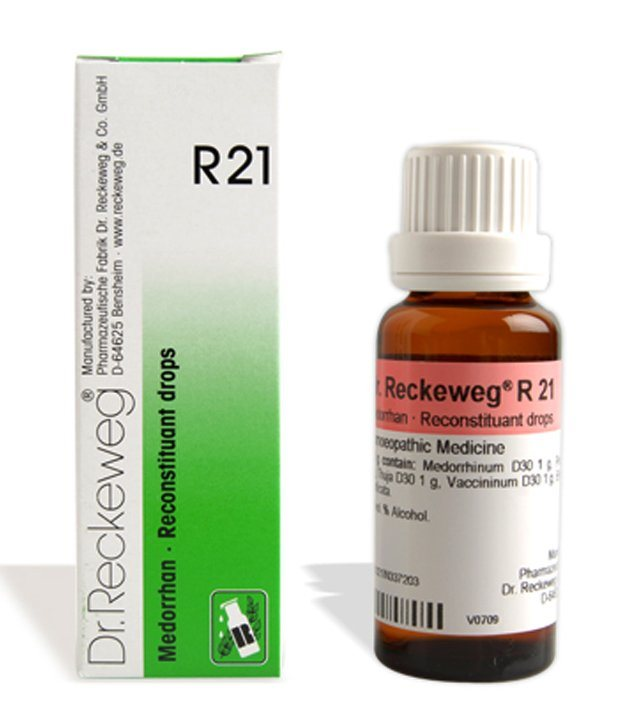 Buy Dr. Reckeweg R21 Reconstituant Drops ( To increase reactivity ) online Nederland [ NL ]