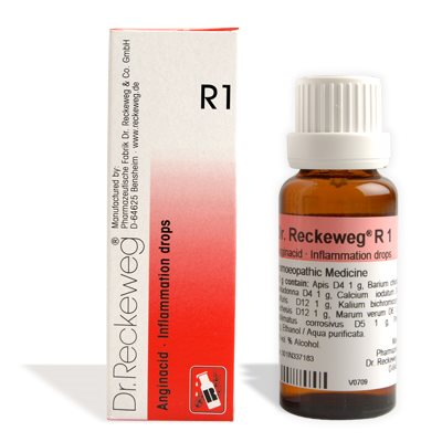 Buy Dr.Reckeweg Homeopathy R1 Inflammation Drops online New Zealand [ NZ ]