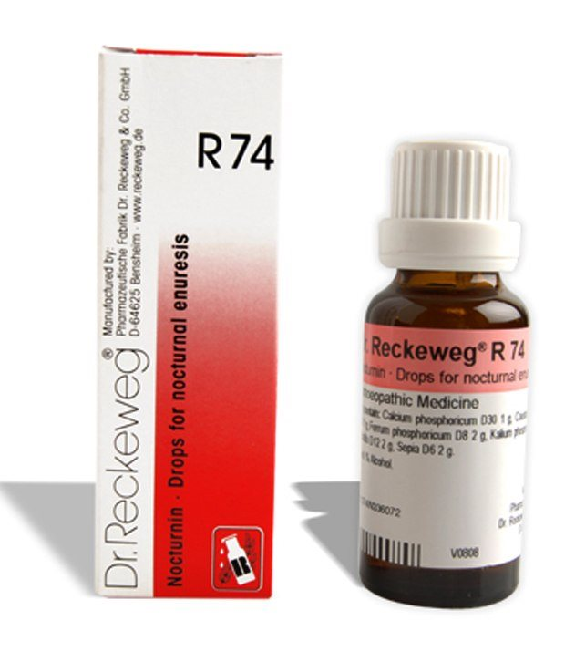 Buy Dr.Reckeweg Homeopathy R74 Bed Wetting Drops online United States of America [ USA ]