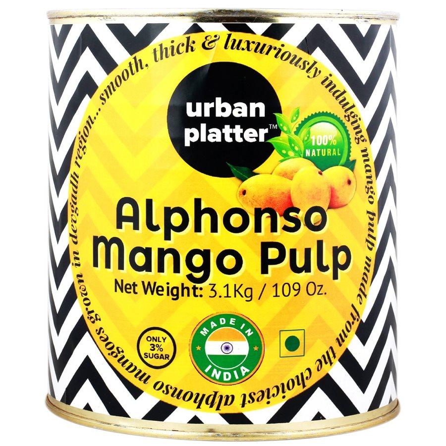 Buy Urban Platter Pure Alphonso Mango Pulp online Belgium [ BE ]