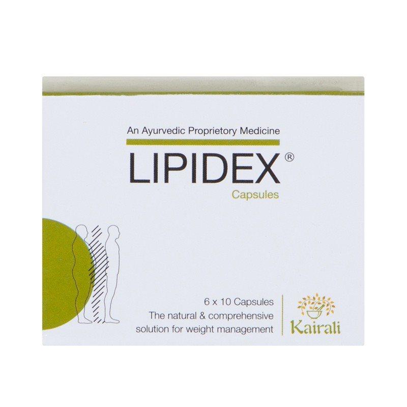 Buy Kairali Ayurvedic Lipidex Capsules online United States of America [ USA ]