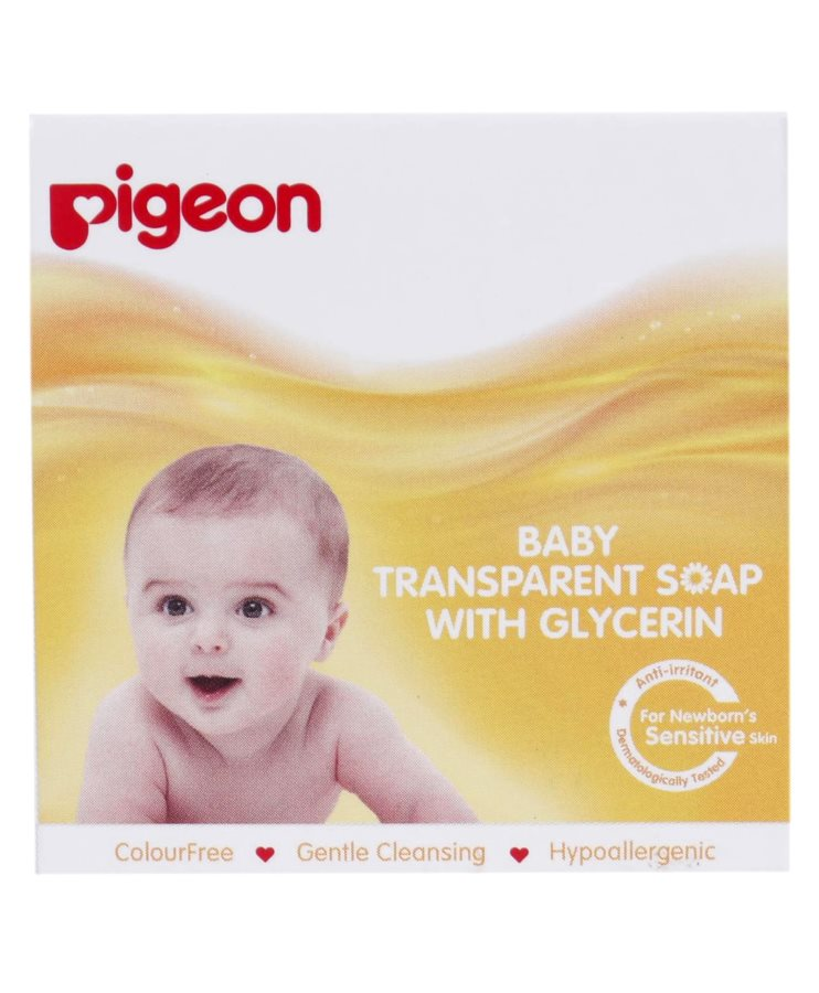 Pigeon Baby Transparent Soap With Glycerin Buy Pigeon