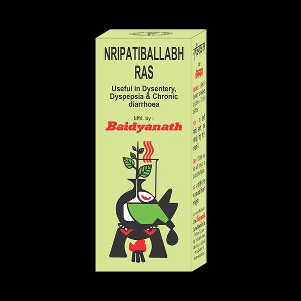 Buy Baidyanath Nripatiballabha Ras online Switzerland [ CH ]