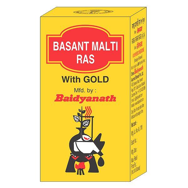 Buy Baidyanath Basant Malti Ras online Switzerland [ CH ]