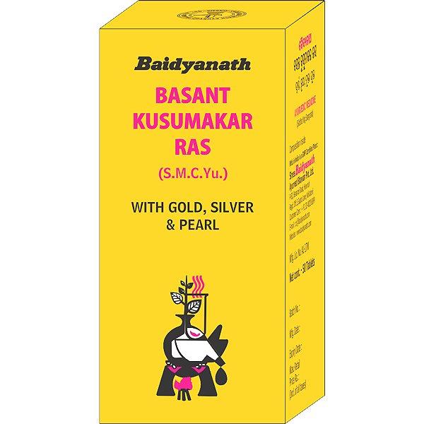 Buy Baidyanath Basant Kusumakar Ras (S.M.C.Yu) online Malasiya [ MY ]