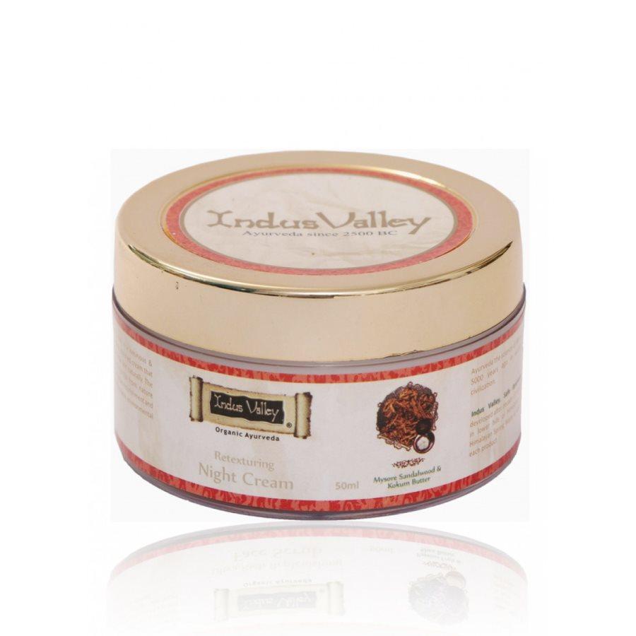 Buy Indus Valley Retexturing Hydrating Night Cream online United States of America [ USA ]