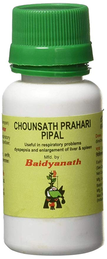 Buy Baidyanath Chousath Prahari Pipal online New Zealand [ NZ ]
