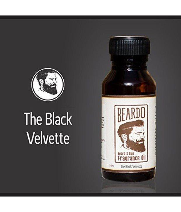 Buy Beardo Beard and Hair Fragrance Oil, The Black Velvette online United States of America [ USA ]
