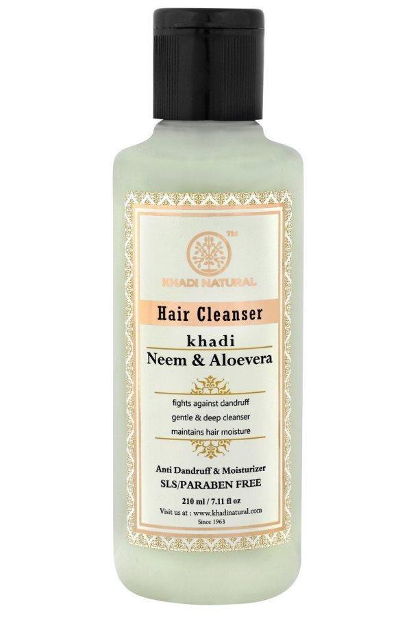 Buy Khadi Herbal Neem & Aloevera Shampoo ( SLS & PARABEN FREE ) online Singapore [ SG ]