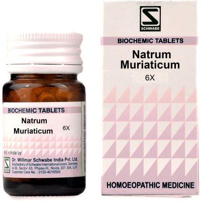 Buy Willmar Schwabe India Natrum Muriaticum 6X online United States of America [ USA ]