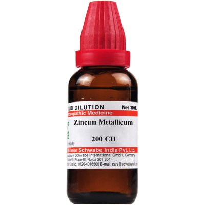 Buy Willmar Schwabe India Zincum metallicum 200 CH online Australia [ AU ]