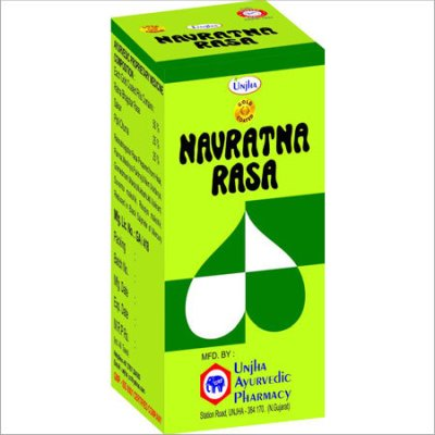 Buy Unjha Navratna Ras (Gold Coated) online New Zealand [ NZ ]