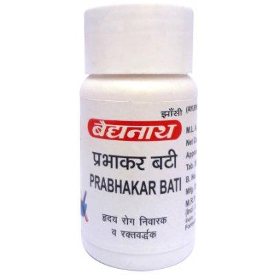 Buy Baidyanath Prabhakar Vati online United States of America [ USA ]