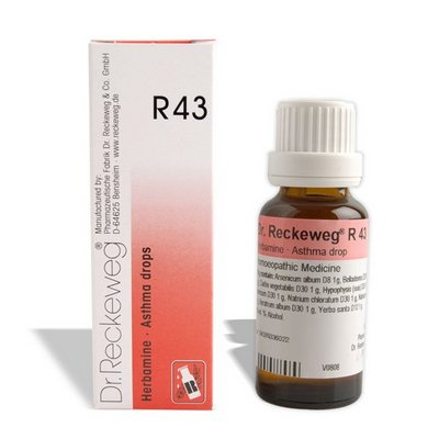 Buy Dr. Reckeweg R43 (Herbamine) online United States of America [ USA ]