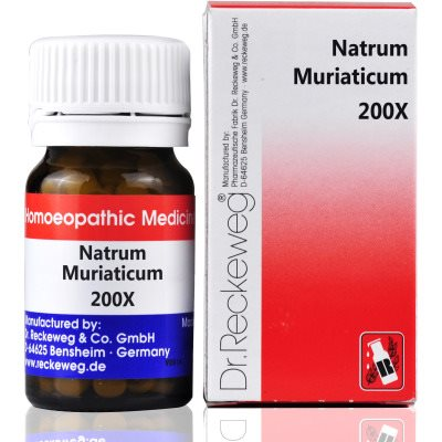 Buy Dr. Reckeweg Natrum Muriaticum 200X online New Zealand [ NZ ]