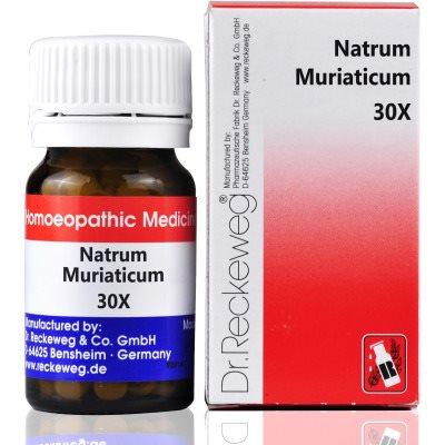 Buy Dr. Reckeweg Natrum Muriaticum 30X online Australia [ AU ]