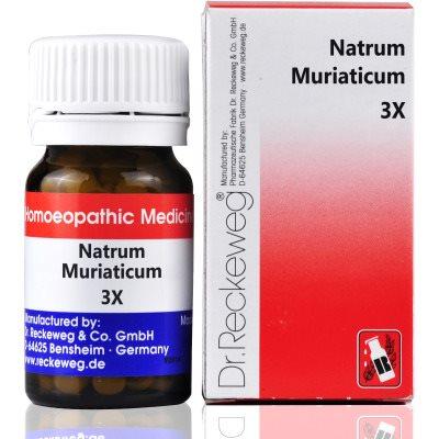 Buy Dr. Reckeweg Natrum Muriaticum 3X online Australia [ AU ]