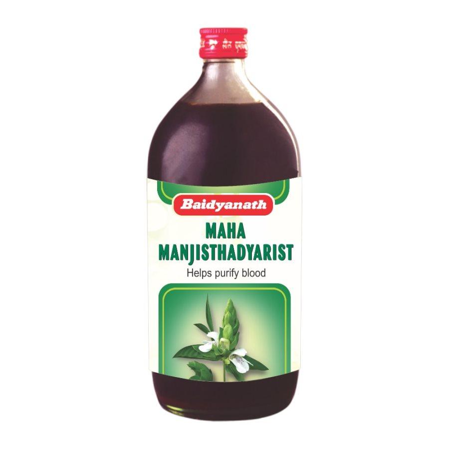 Buy Baidyanath Maha Manjishthadyarishta online United States of America [ USA ]