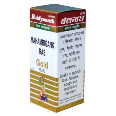 Buy Baidyanath Mahamrigank Ras (Swarna Moti Yukta) online Singapore [ SG ]