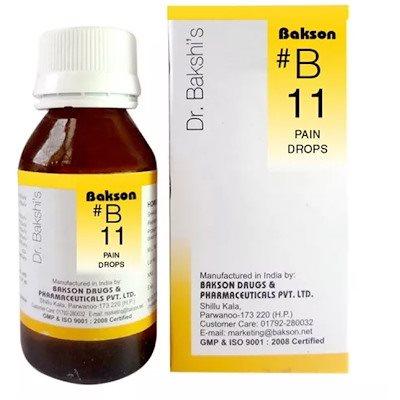 Buy Bakson's B11 Pain Drops online Switzerland [ CH ]