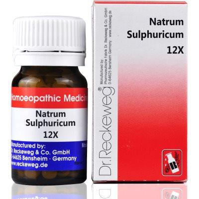 Buy Dr. Reckeweg Natrum Sulphuricum 12X online United States of America [ USA ]