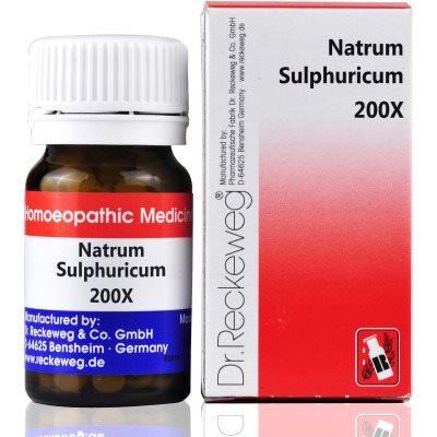 Buy Dr. Reckeweg Natrum Sulphuricum 200X online Australia [ AU ]