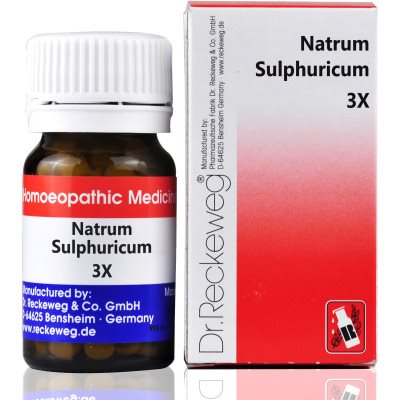 Buy Dr. Reckeweg Natrum Sulphuricum 3X online Australia [ AU ]