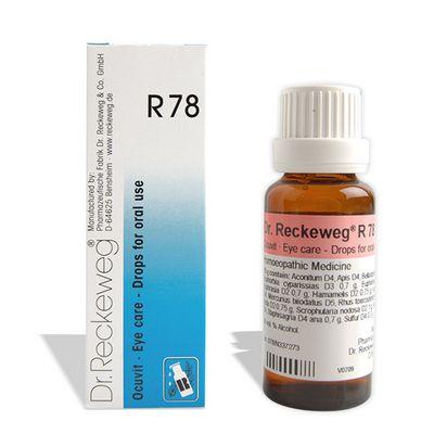 Buy Dr. Reckeweg R78 Eye care - Drops for drinking online Australia [ AU ]