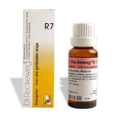 Buy Dr. Reckeweg R7 Liver and Gallbladder Drops online Singapore [ SG ]