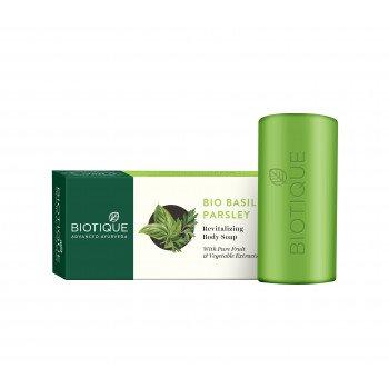 Buy Biotique Bio Basil and Parsley Revitilizing Body Soap online Nederland [ NL ]
