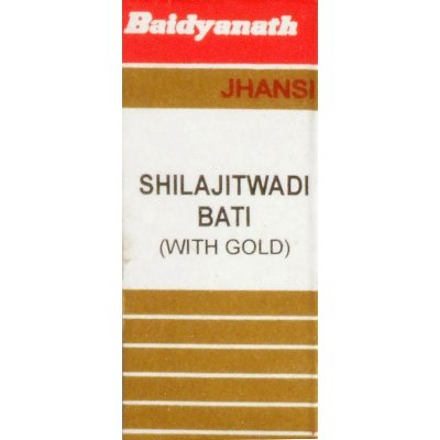 Buy Baidyanath Shilajitwadi Vati ( Swarna Yukta ) online United Kingdom [ UK ]