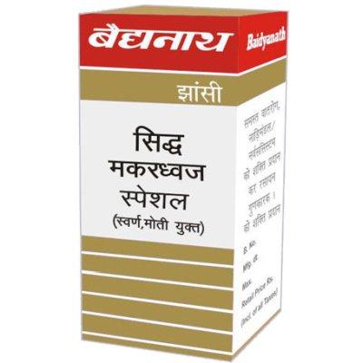 Buy Baidyanath Siddha Makardhwaj (Swarna Moti Amber Yukta) online United States of America [ USA ]