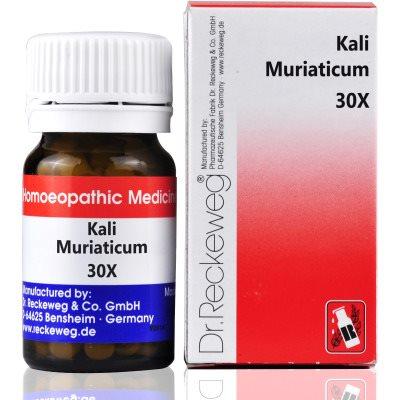 Buy Dr. Reckeweg Kali Muriaticum 30X Tab online United States of America [ USA ]