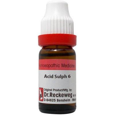 Buy Dr. Reckeweg Acid Sulphuricum 6 CH online New Zealand [ NZ ]