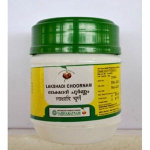 Buy Vaidyaratnam Oushadhasala Lakshadi Choornam online New Zealand [ NZ ]
