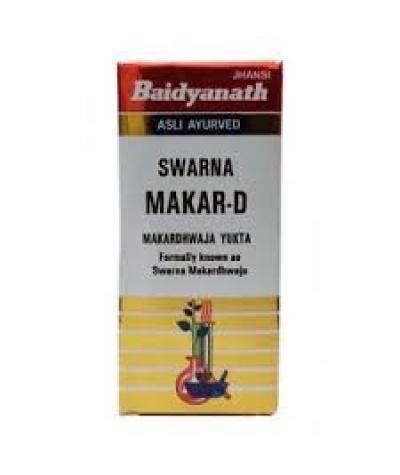 Buy Baidyanath Swarna Makar - D (Swarn and Kesar Yukta) online Australia [ AU ]