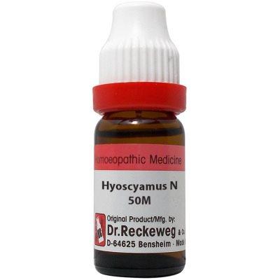 Buy Dr. Reckeweg Hyoscyamus Niger 50M CH online United States of America [ USA ]