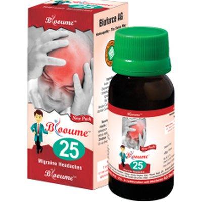 Buy Bioforce Blooume 25 ( Migrainosan ) Drops online Nederland [ NL ]