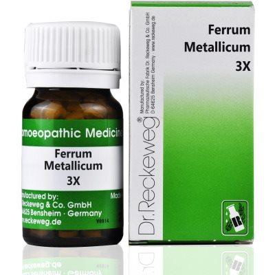 Buy Dr. Reckeweg Ferrum Metallicum 3X online United States of America [ USA ]