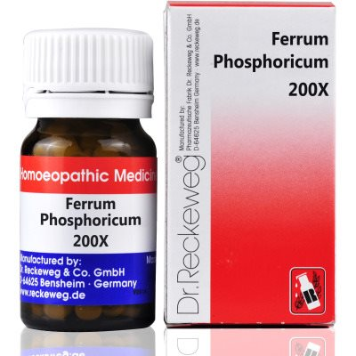 Buy Dr. Reckeweg Ferrum Phosphoricum 200X online United States of America [ USA ]