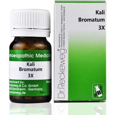 Buy Dr. Reckeweg Kali Bromatum 3X Tab online Nederland [ NL ]