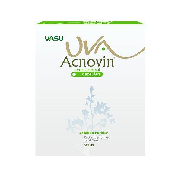 Buy Vasu Pharma UVA Acnovin Capsule online New Zealand [ NZ ]