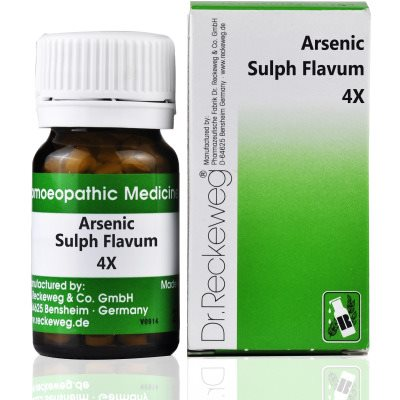 Buy Dr. Reckeweg Arsenic Sulphuratum Flavum 4X online United Kingdom [ UK ]