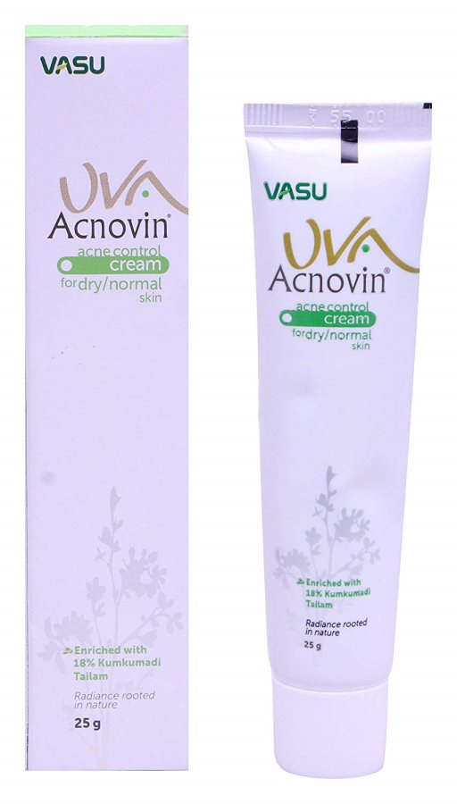 Buy Vasu Pharma UVA Acnovin Acne Control Cream online Switzerland [ CH ]