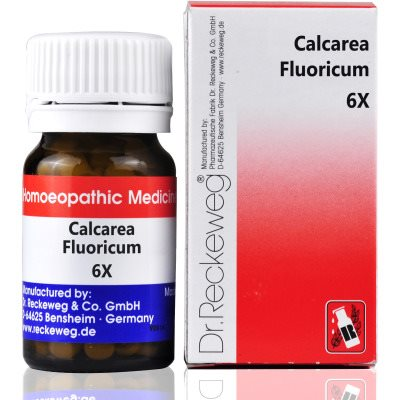 Buy Dr. Reckeweg Calcarea Fluoricum 6X online New Zealand [ NZ ]